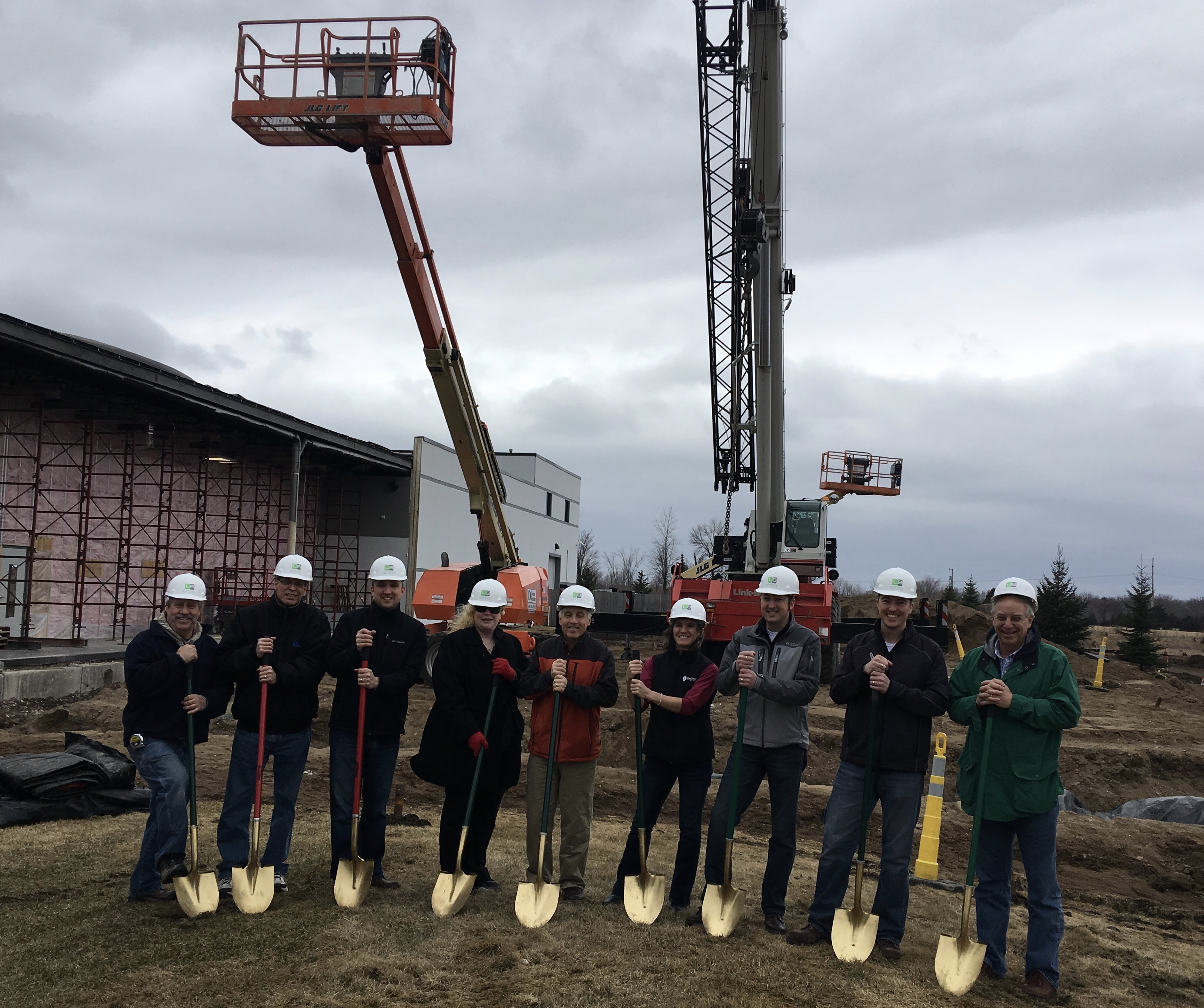 Larson Building Breaks Ground With Moon Motorsports Of